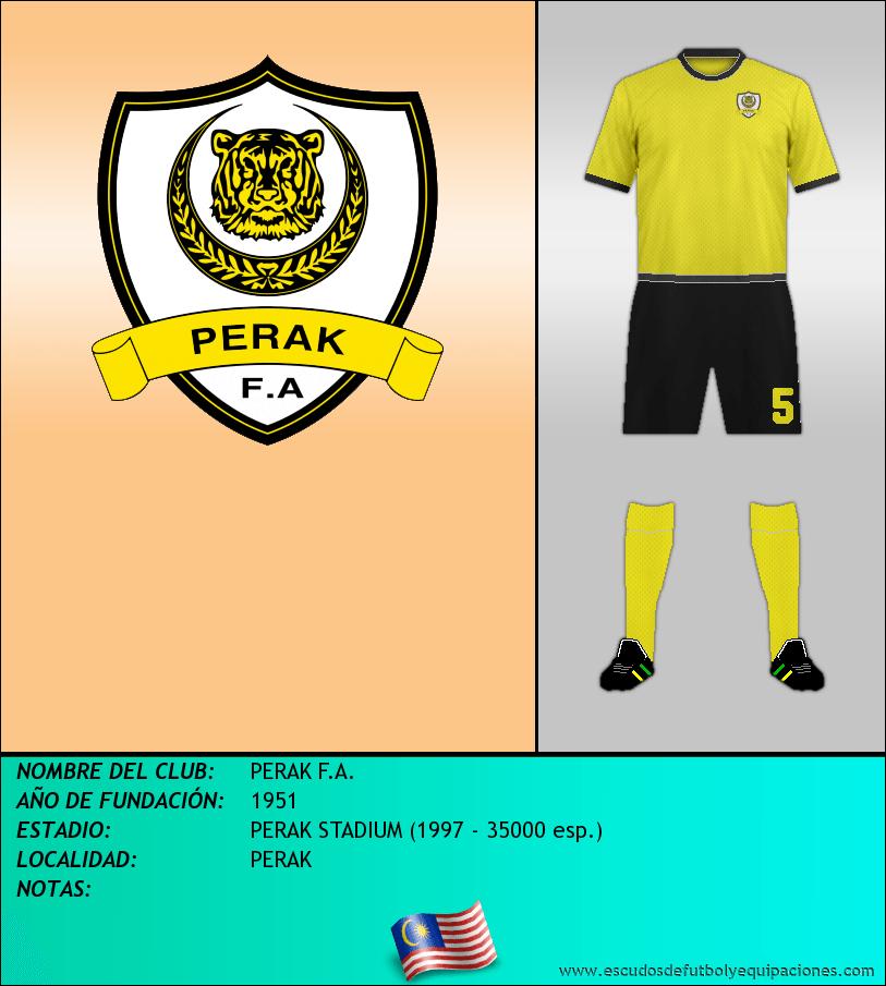 Escudo de PERAK F.A.