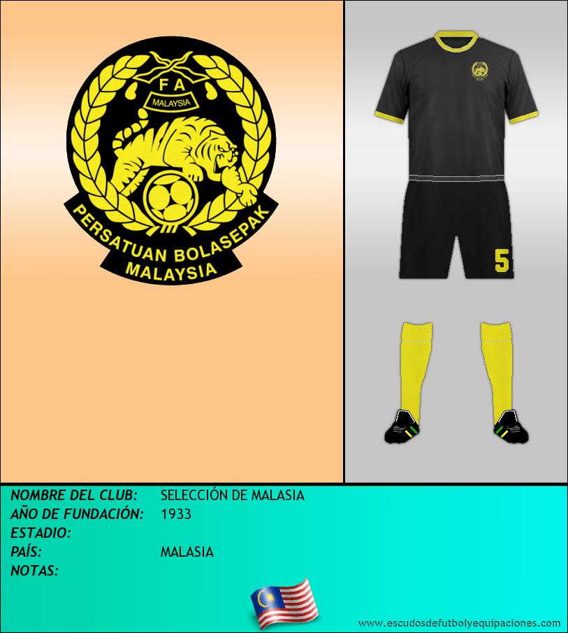 Escudo de SELECCIÓN DE MALASIA