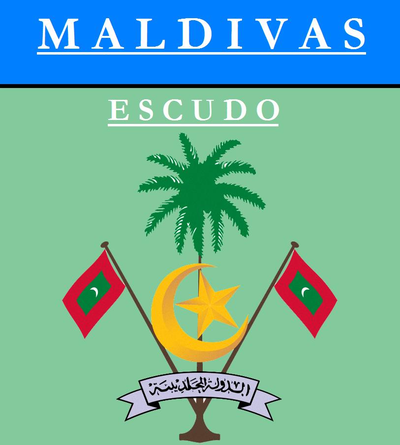 Escudo de ESCUDO DE MALDIVAS