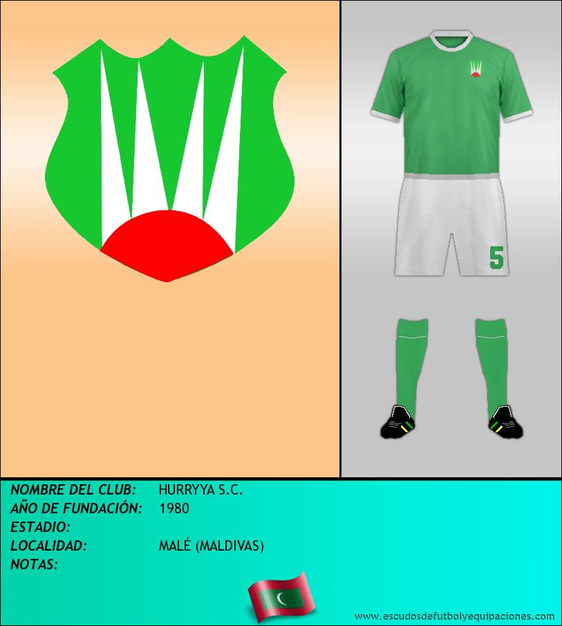 Escudo de HURRYYA S.C.