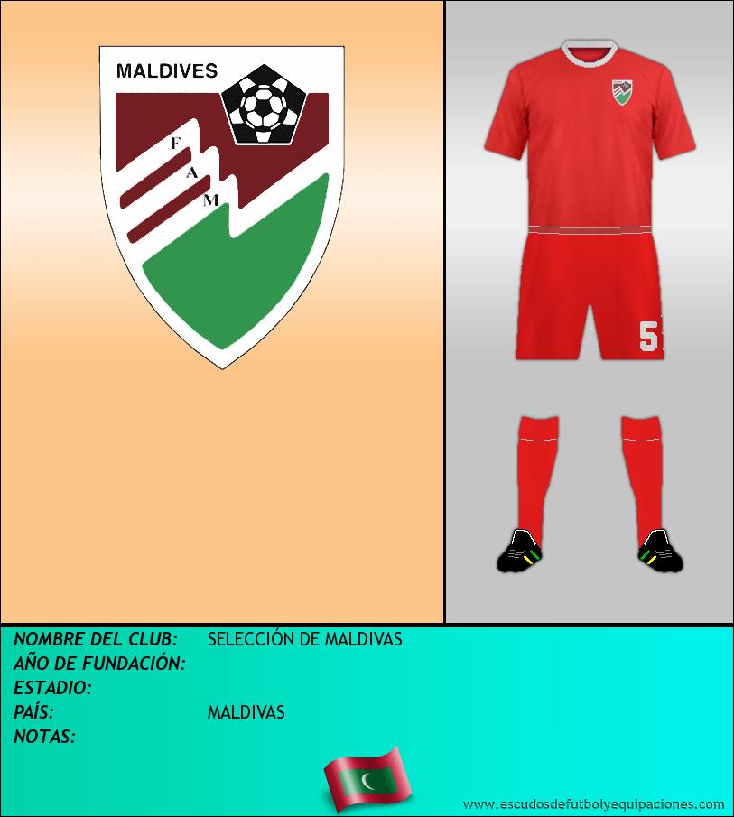 Escudo de SELECCIÓN DE MALDIVAS