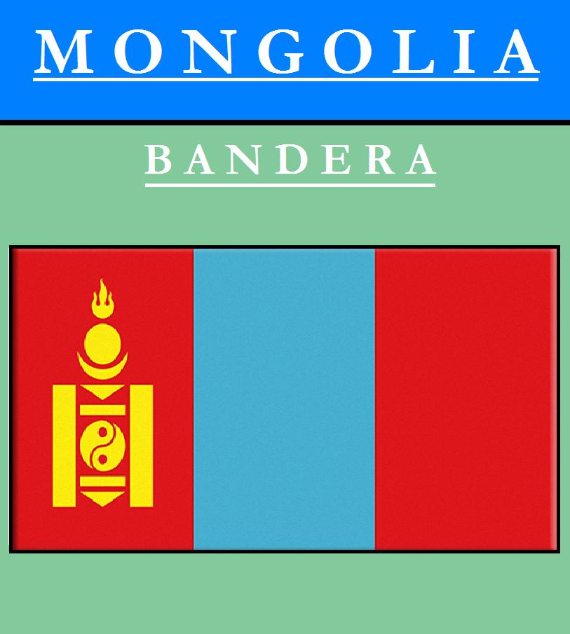 Escudo de BANDERA DE MONGOLIA