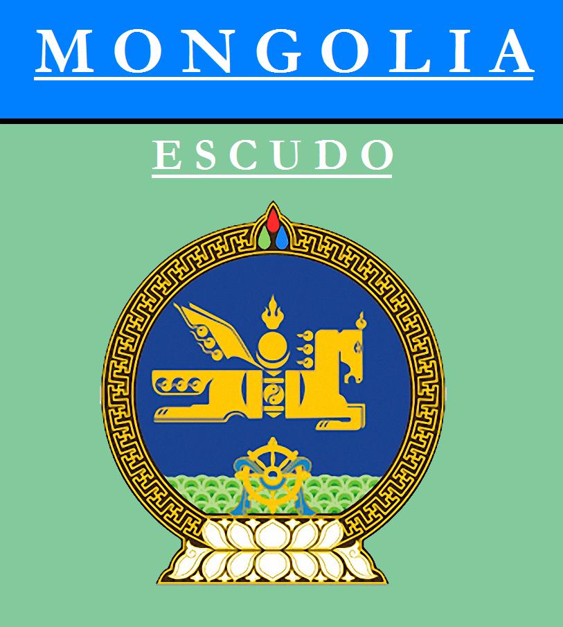 Escudo de ESCUDO DE MONGOLIA
