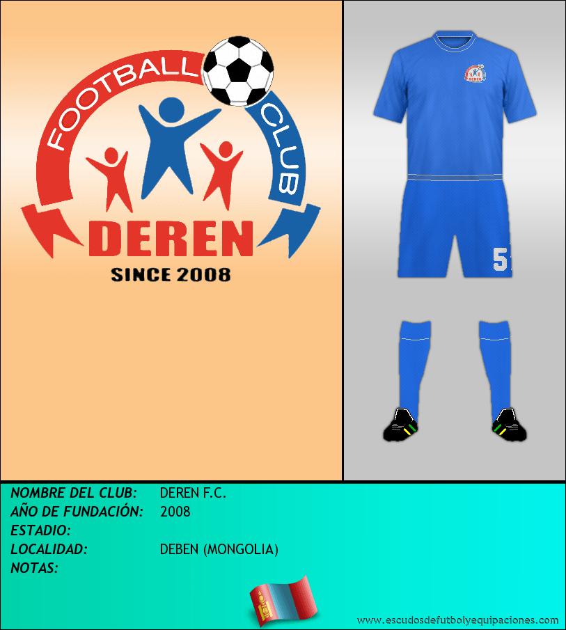 Escudo de DEREN F.C.