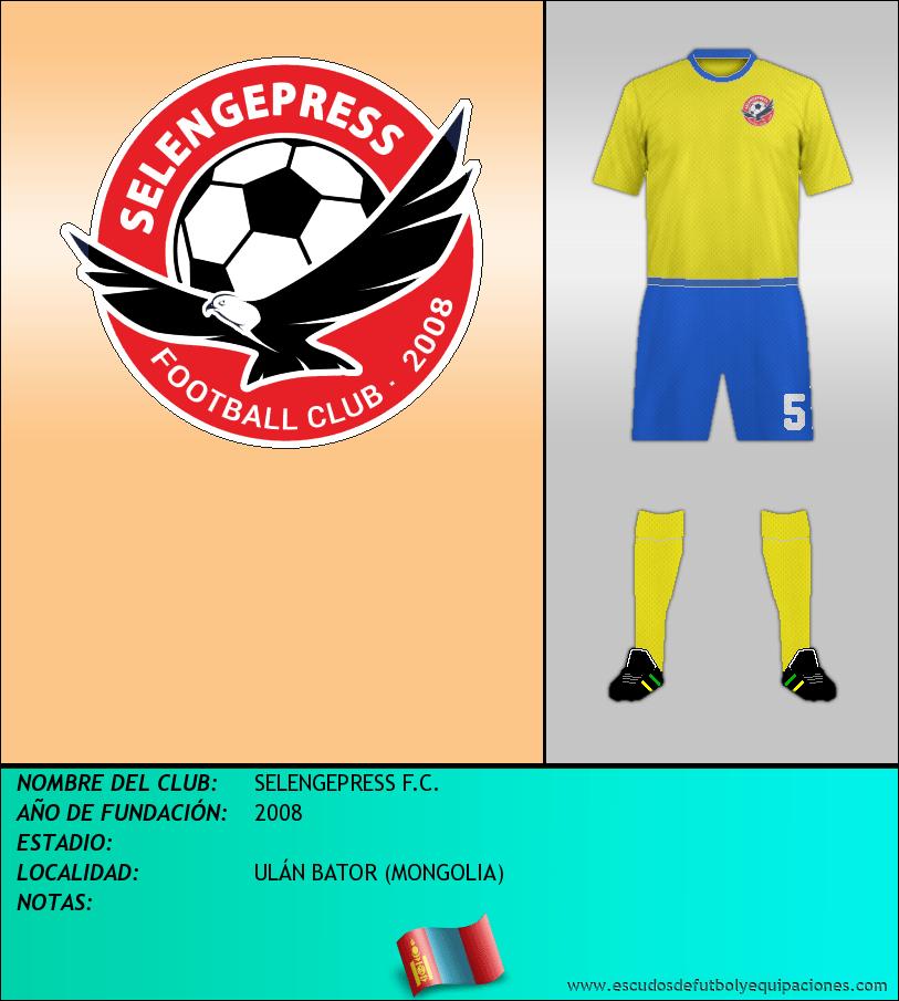 Escudo de SELENGEPRESS F.C.