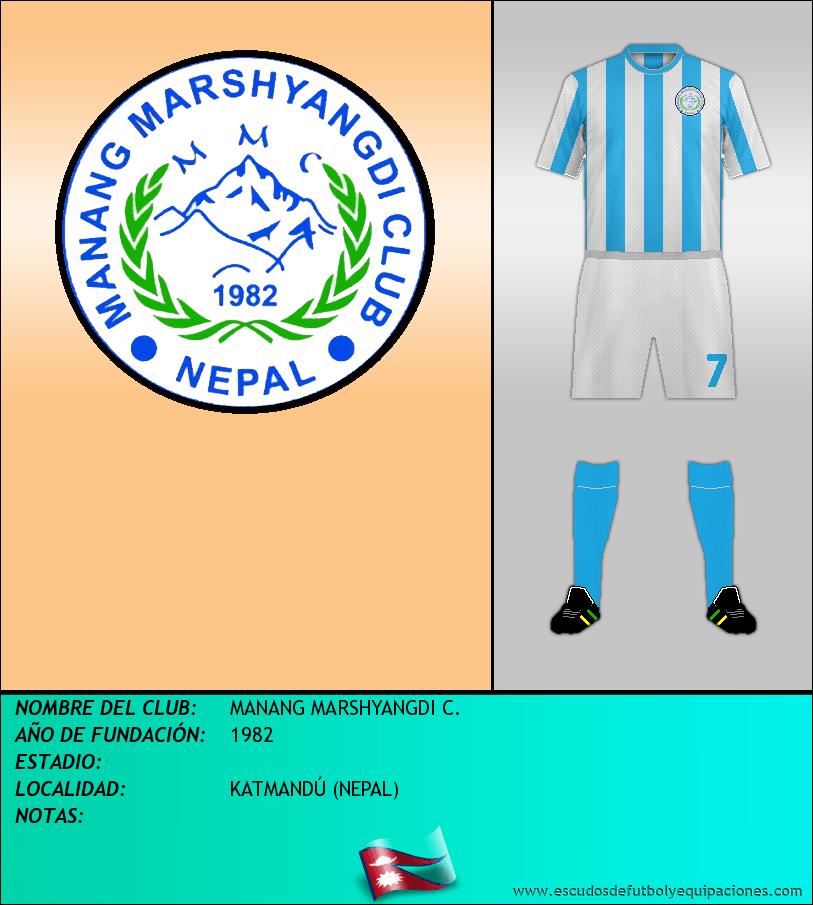 Escudo de MANANG MARSHYANGDI C.