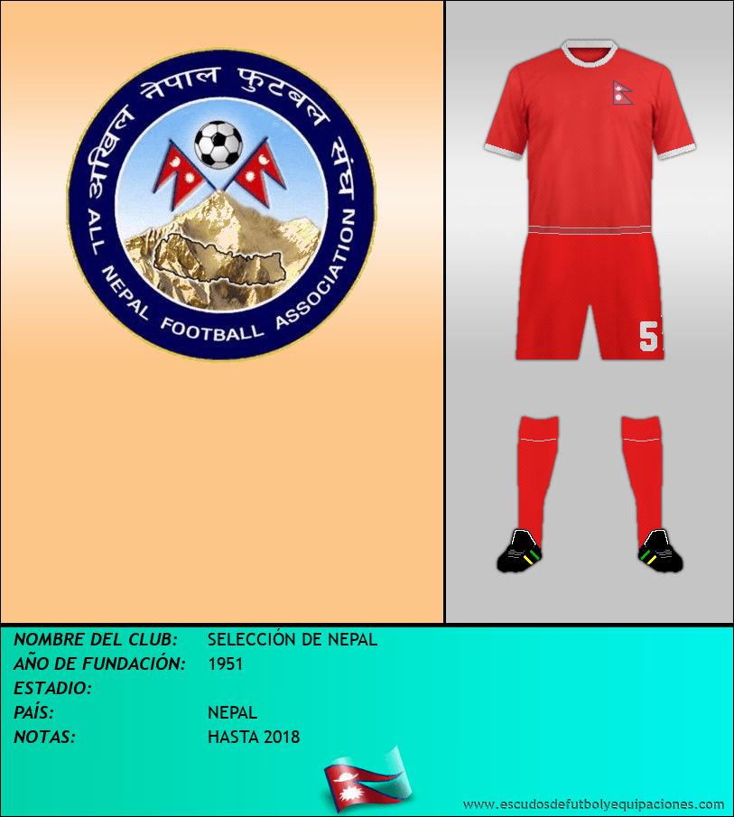 Escudo de SELECCIÓN DE NEPAL