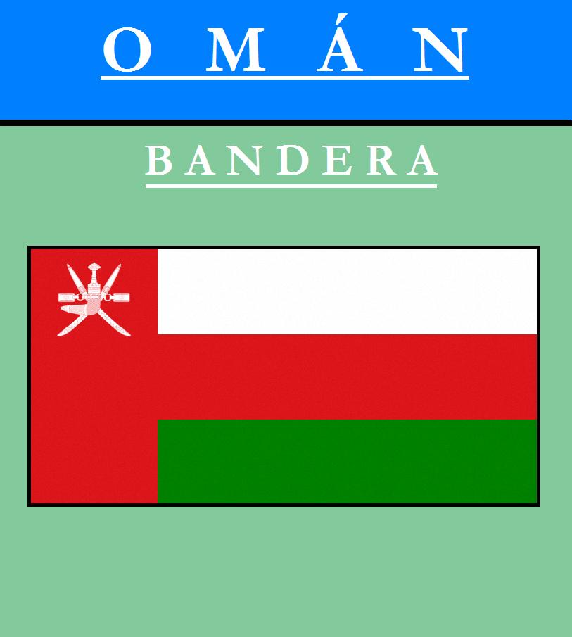Escudo de BANDERA DE OMÁN