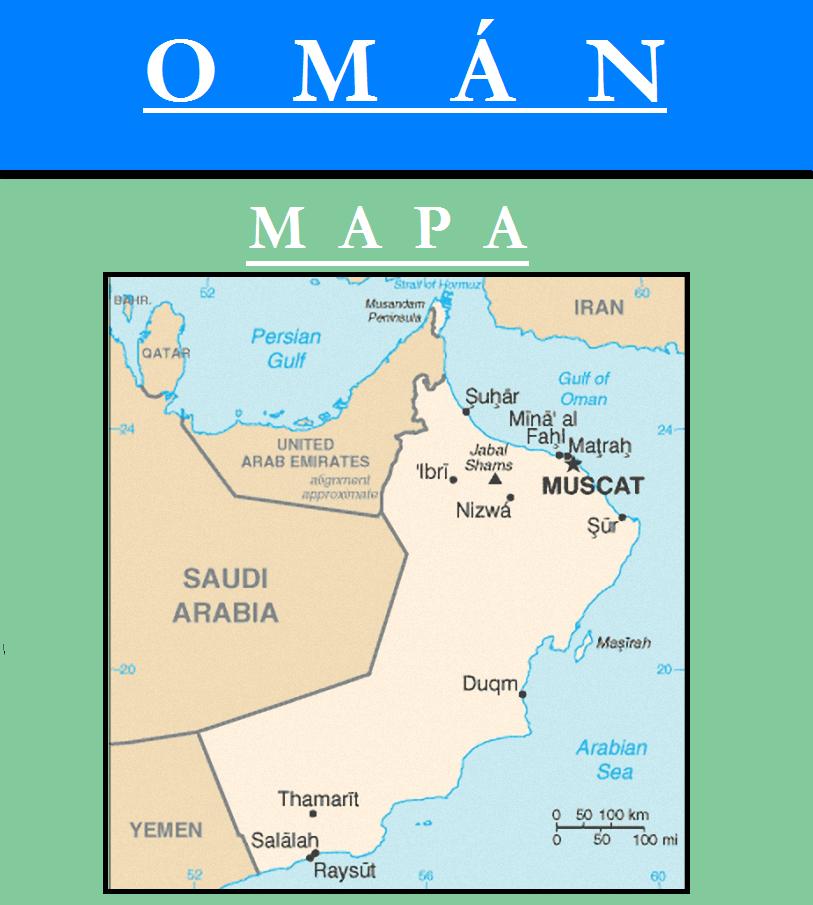 Escudo de MAPA DE OMÁN