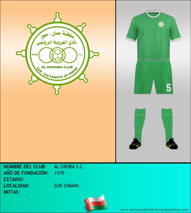 Escudo de AL ORUBA S.C.