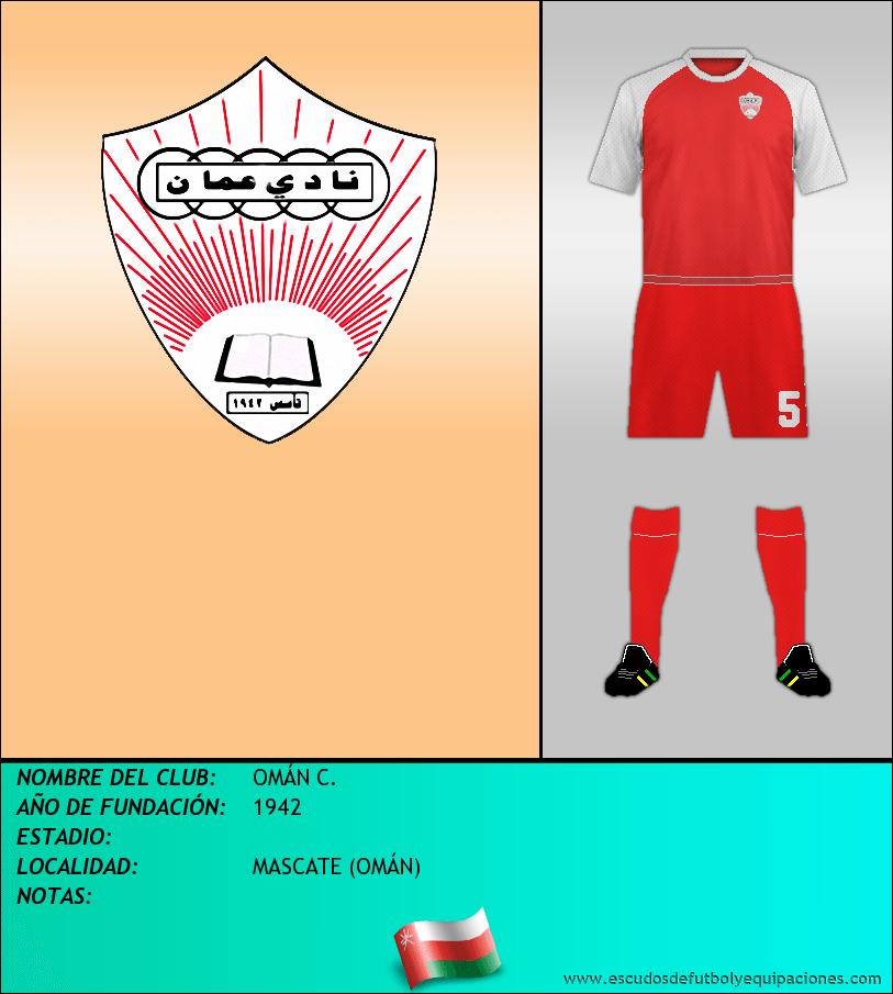 Escudo de OMÁN C.