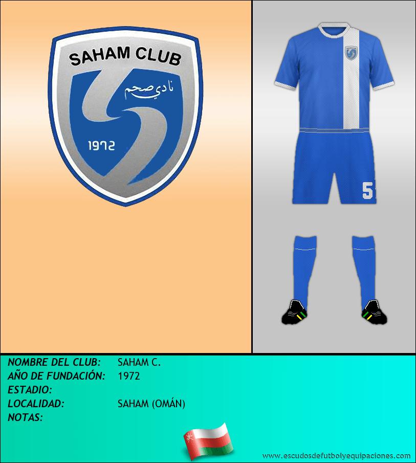 Escudo de SAHAM C.