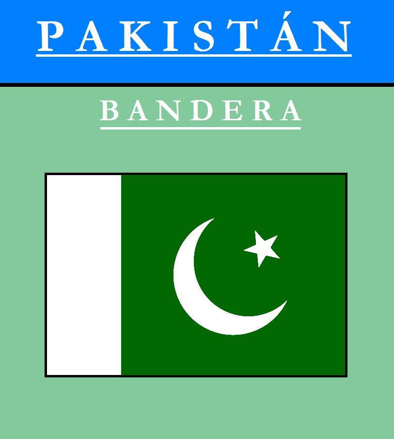 Escudo de BANDERA DE PAKISTÁN
