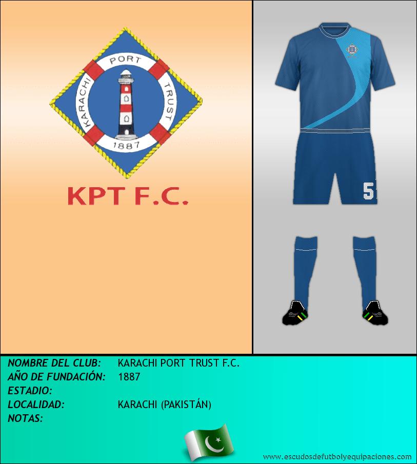 Escudo de KARACHI PORT TRUST F.C.