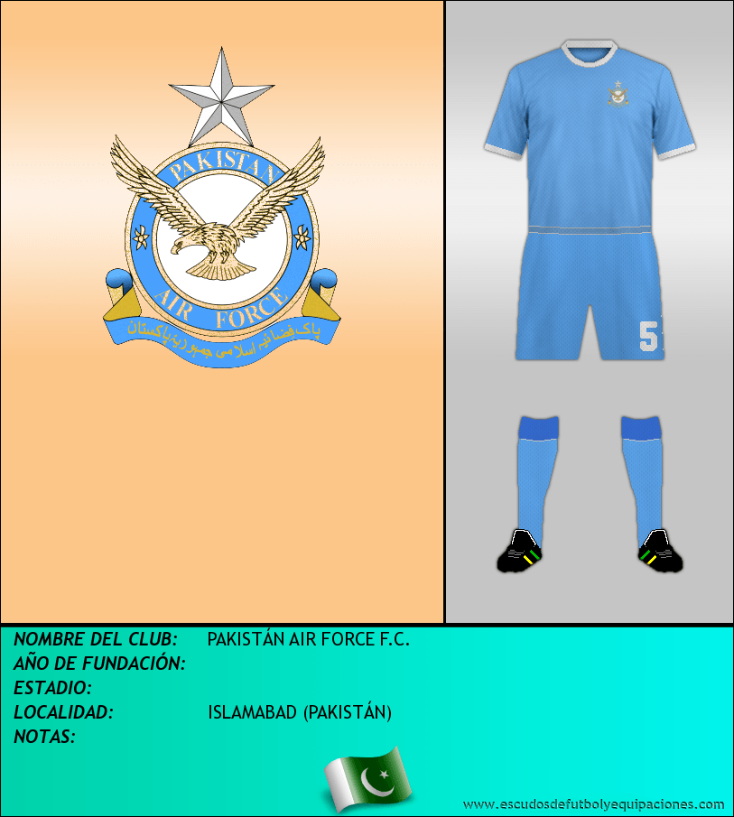 Escudo de PAKISTÁN AIR FORCE F.C.