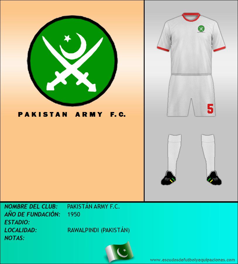 Escudo de PAKISTÁN ARMY F.C.