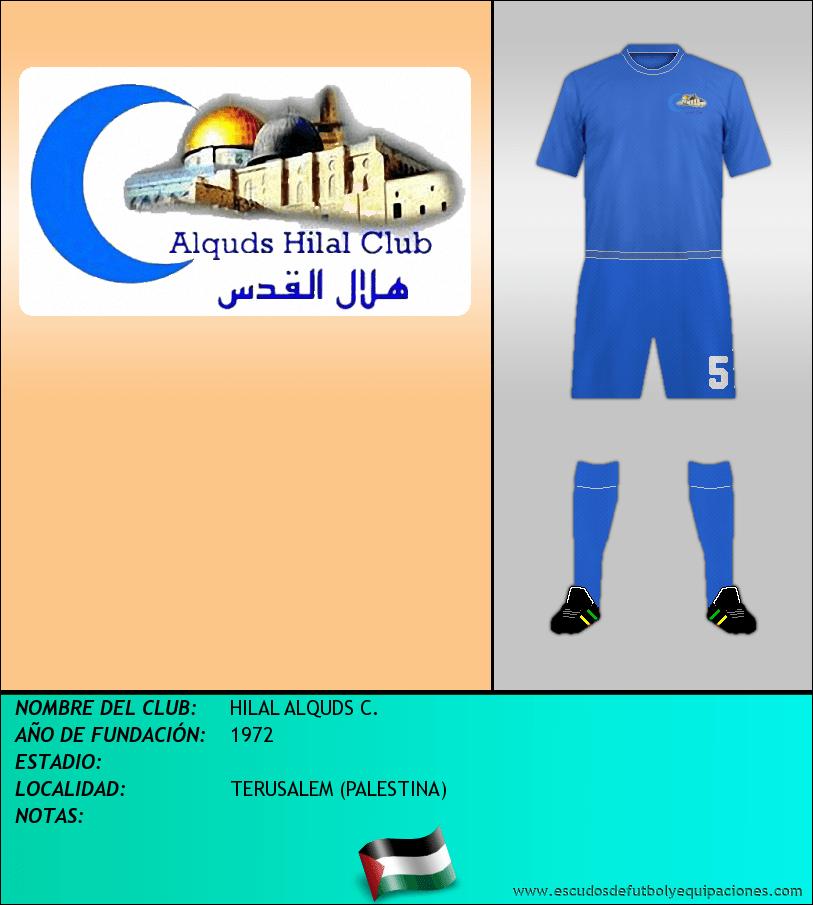 Escudo de HILAL ALQUDS C.