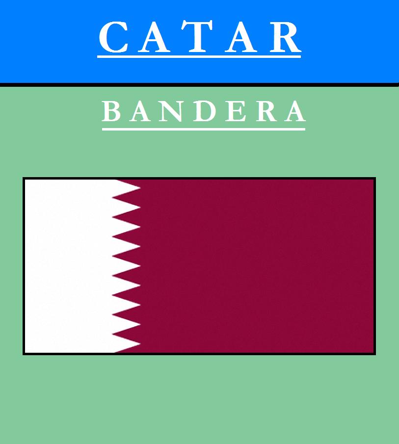 Escudo de BANDERA DE QATAR