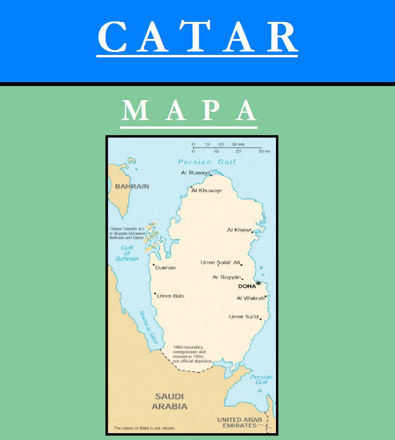 Escudo de MAPA DE QATAR