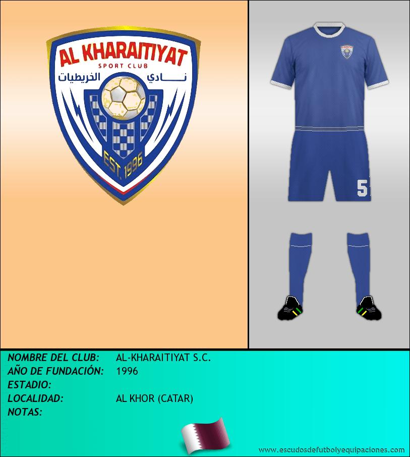 Escudo de AL-KHARAITIYAT S.C.
