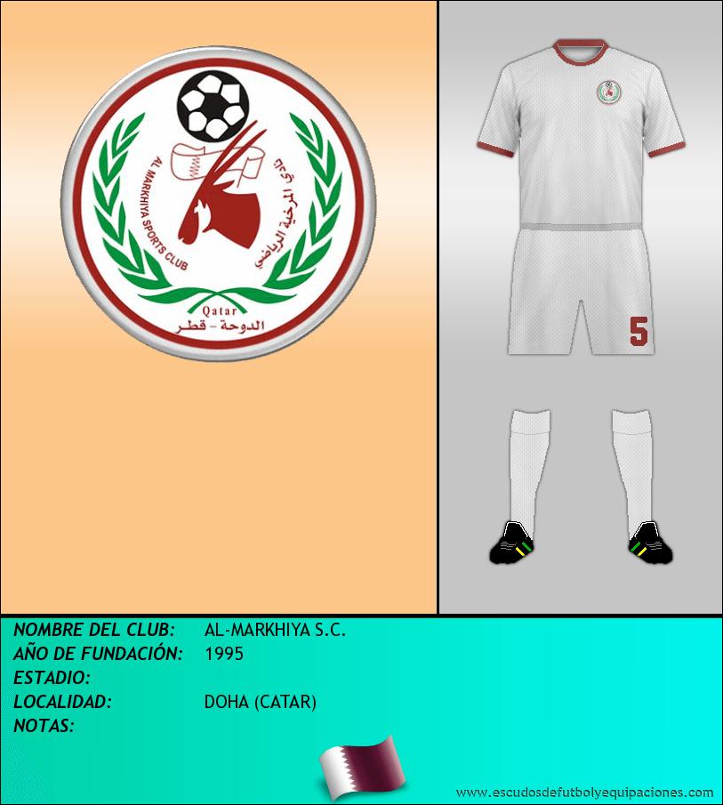Escudo de AL-MARKHIYA S.C.