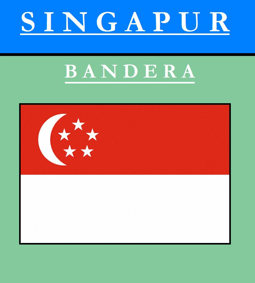 Escudo de BANDERA DE SINGAPUR