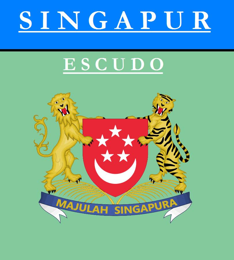 Escudo de ESCUDO DE SINGAPUR