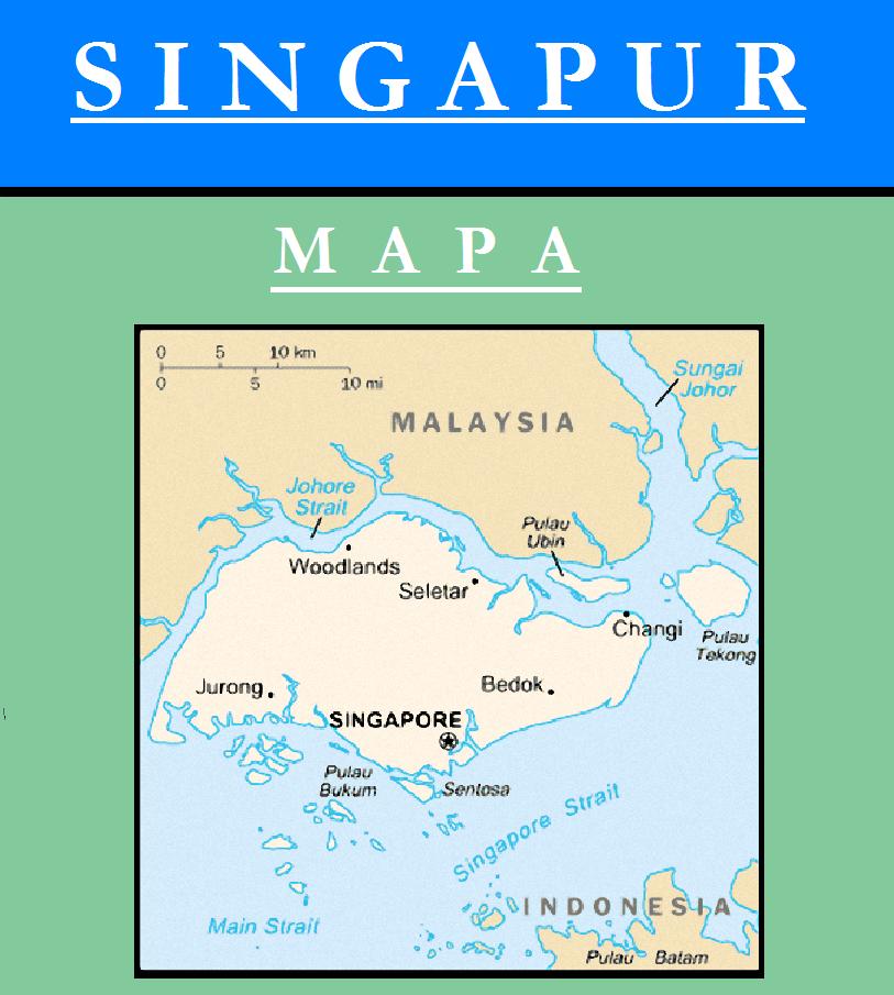 Escudo de MAPA DE SINGAPUR