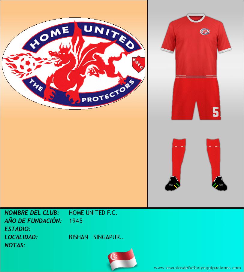 Escudo de HOME UNITED F.C.