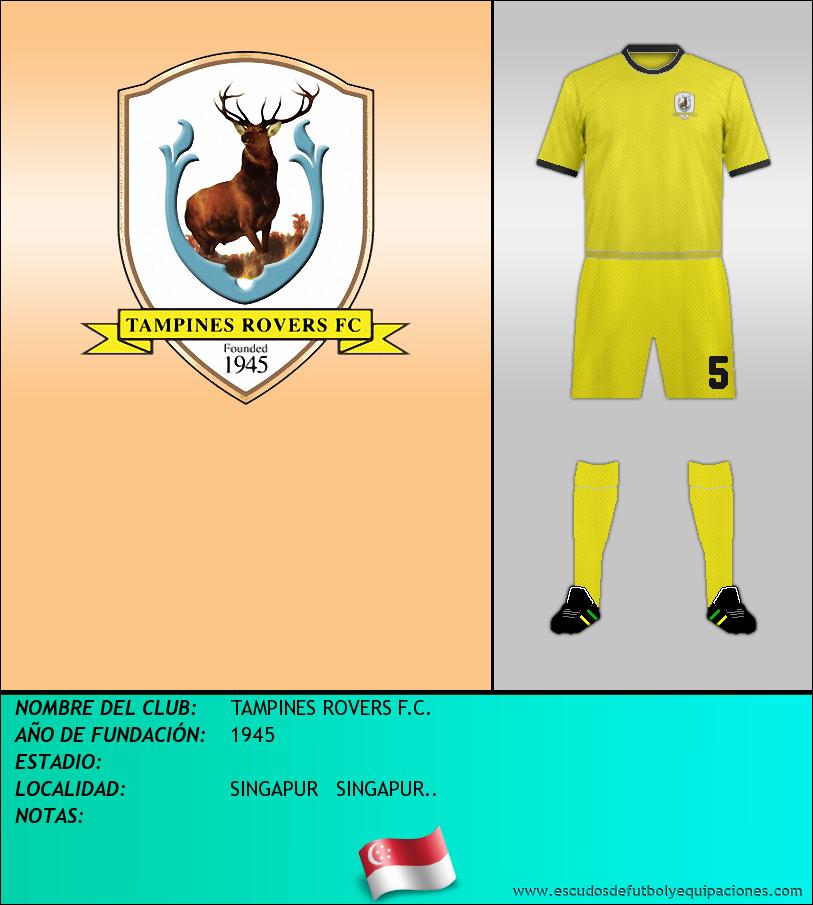 Escudo de TAMPINES ROVERS F.C.