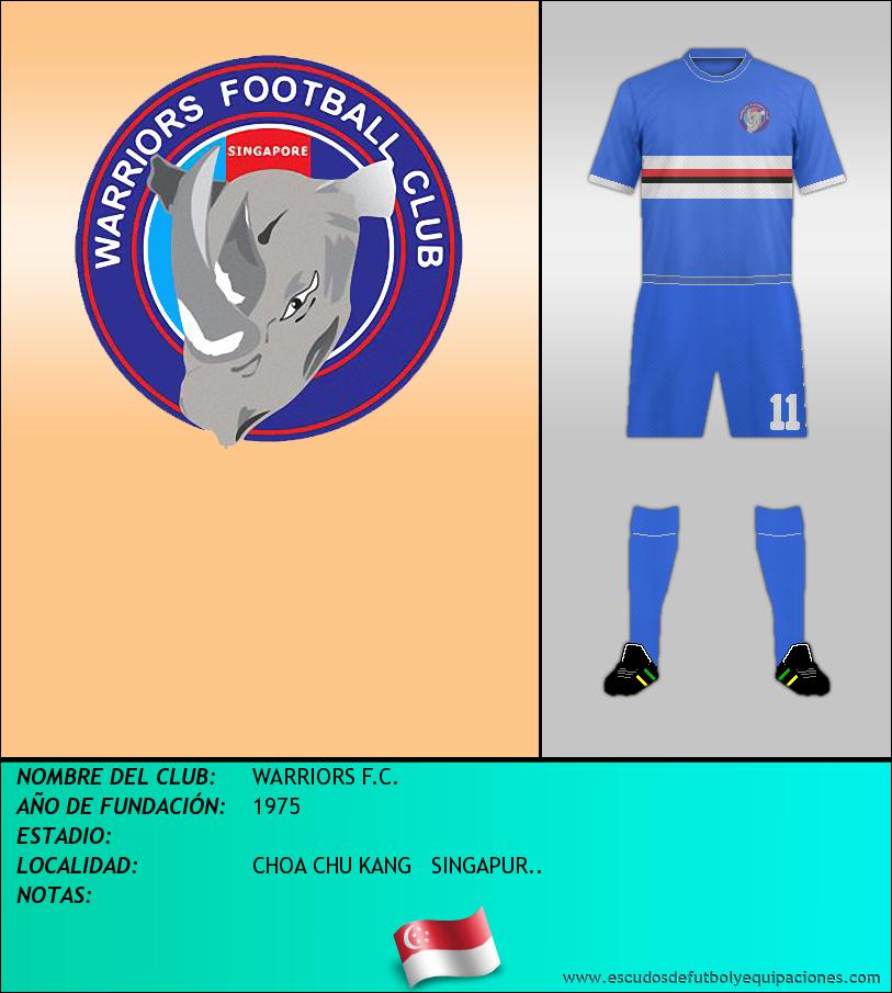 Escudo de WARRIORS F.C.