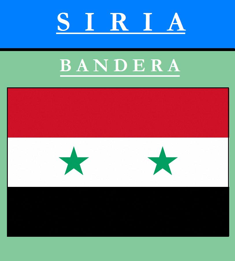 Escudo de BANDERA DE SIRIA