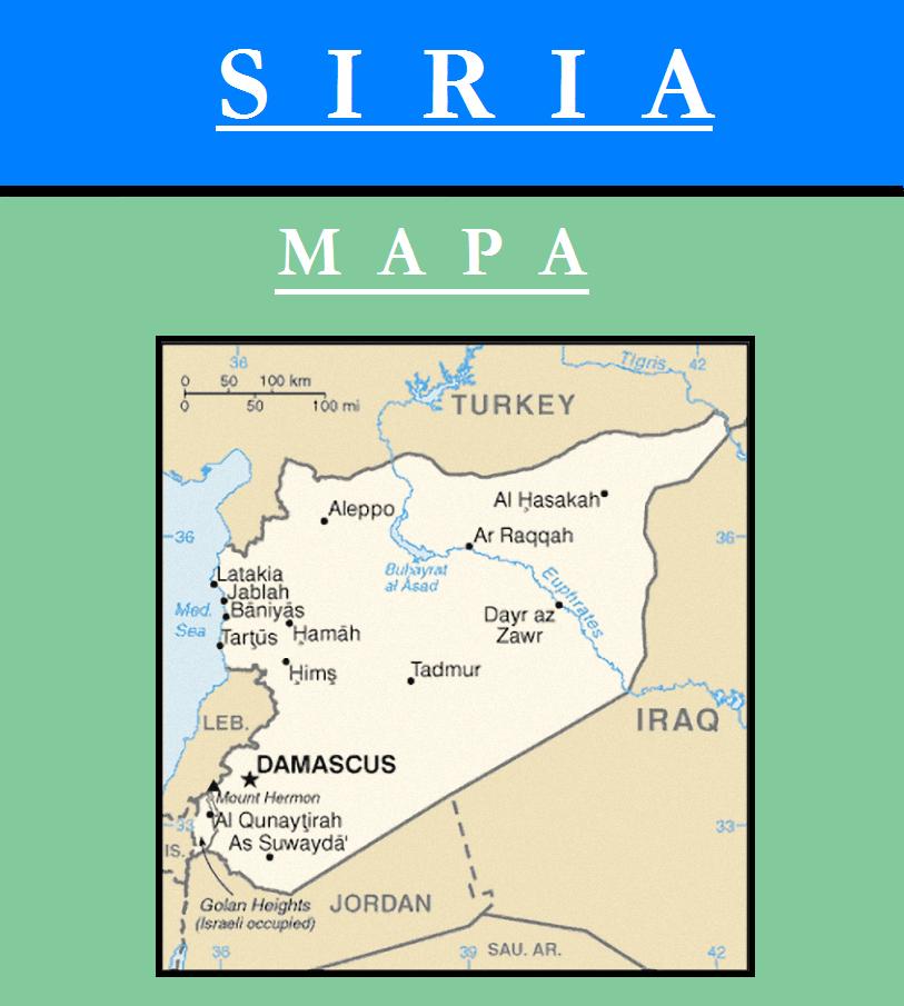 Escudo de MAPA DE SIRIA
