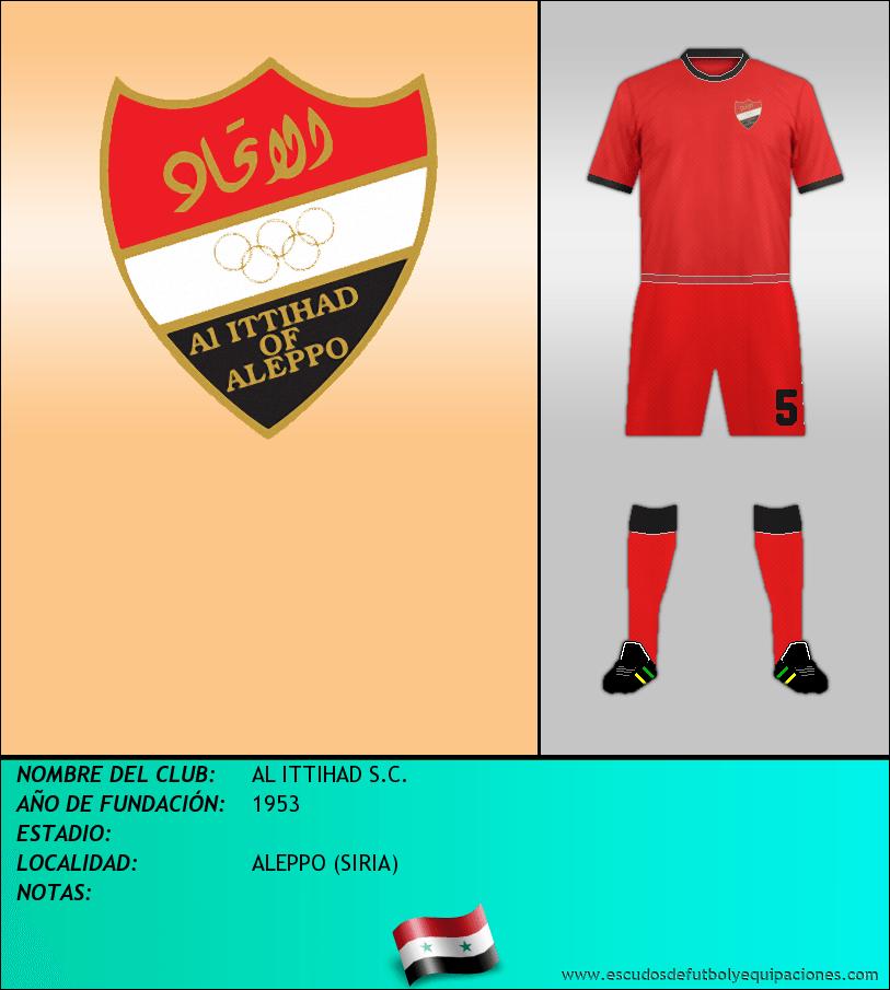 Escudo de AL ITTIHAD S.C.