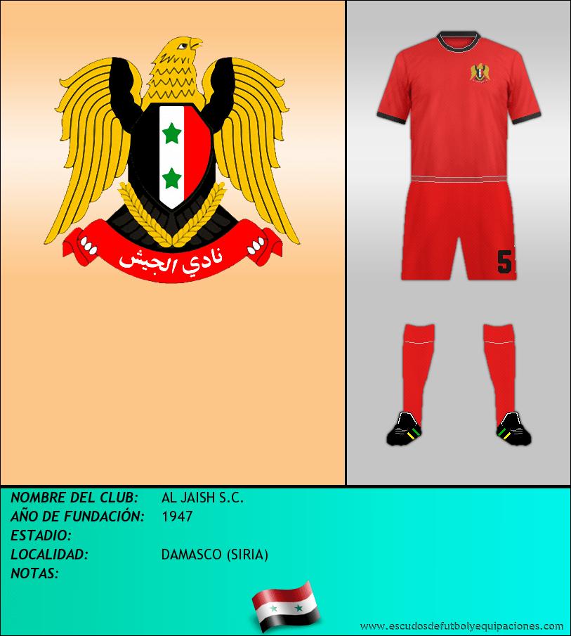 Escudo de AL JAISH S.C.