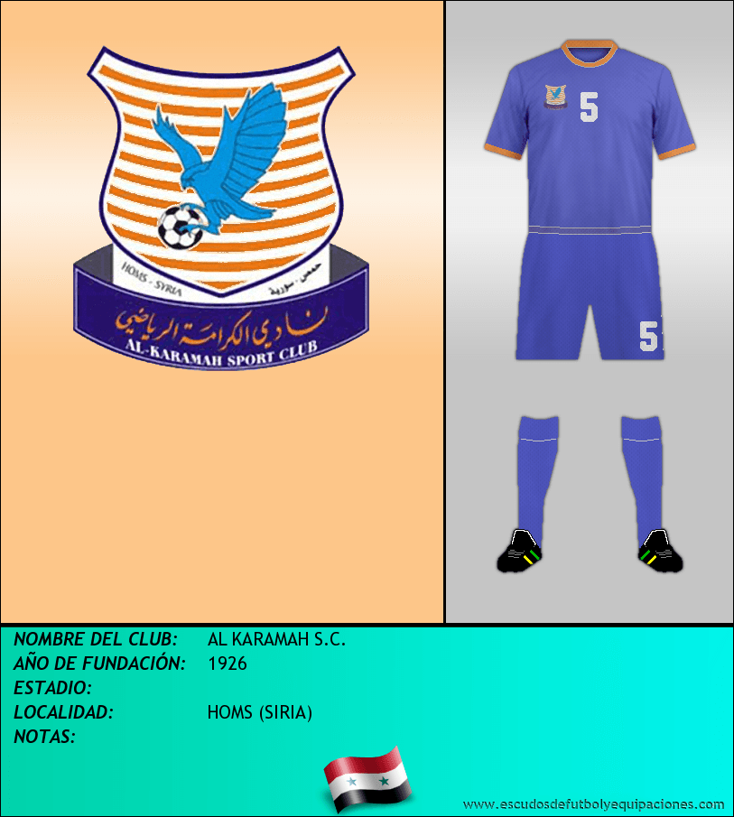 Escudo de AL KARAMAH S.C.