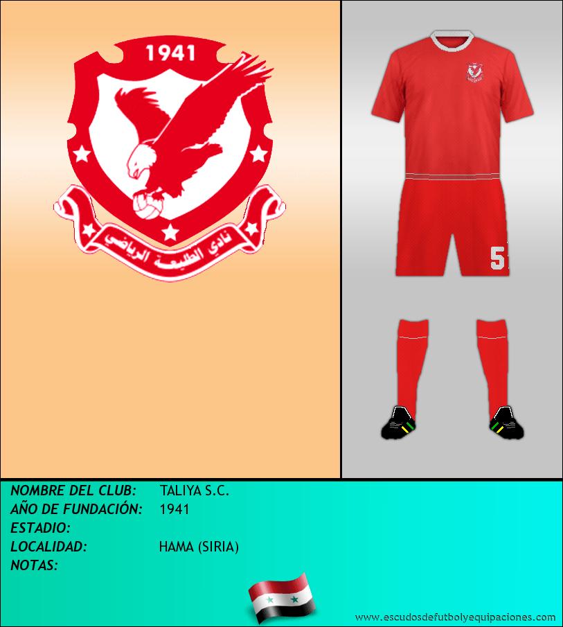 Escudo de TALIYA S.C.