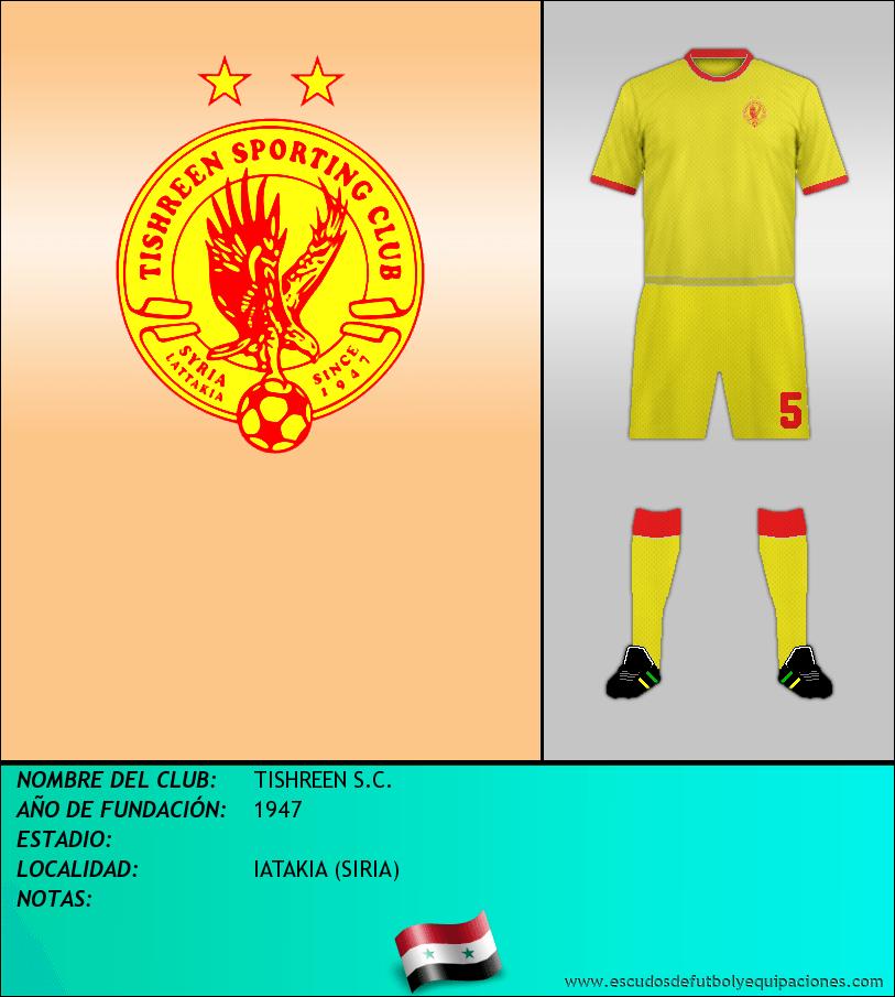 Escudo de TISHREEN S.C.