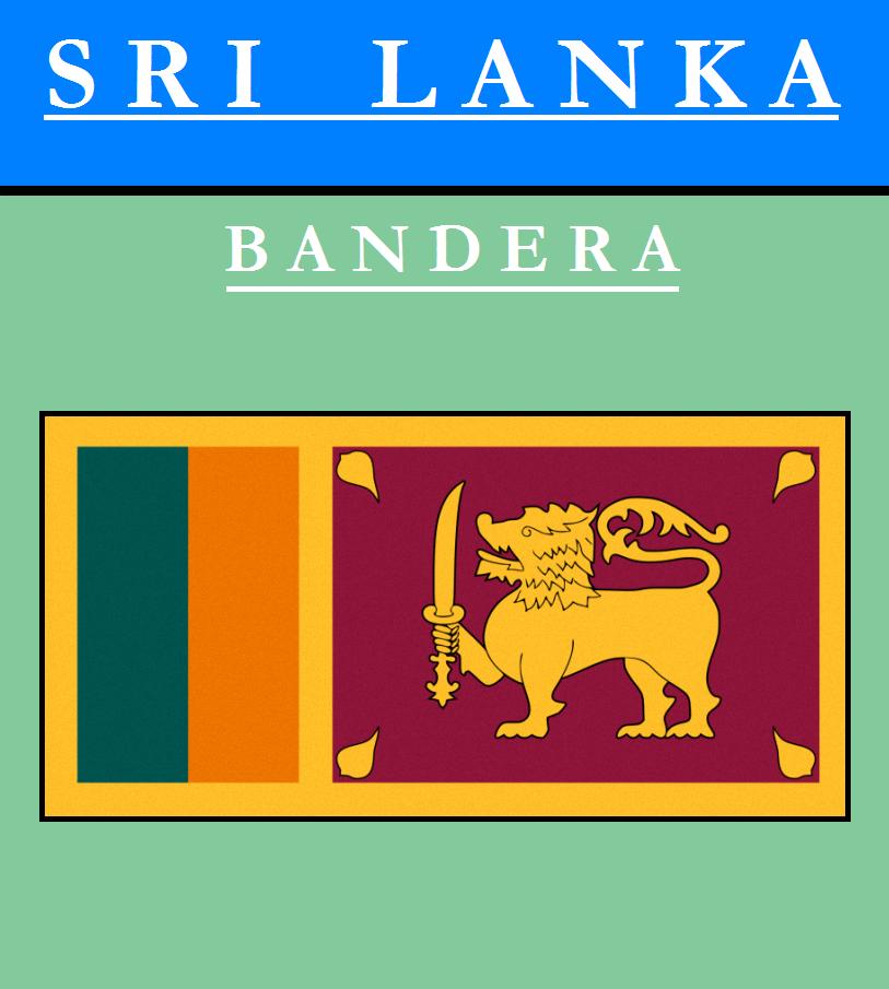 Escudo de BANDERA DE SRI LANKA