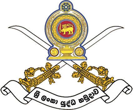 Escudo de SRI LANKA ARMY S.C. (SRI LANKA)