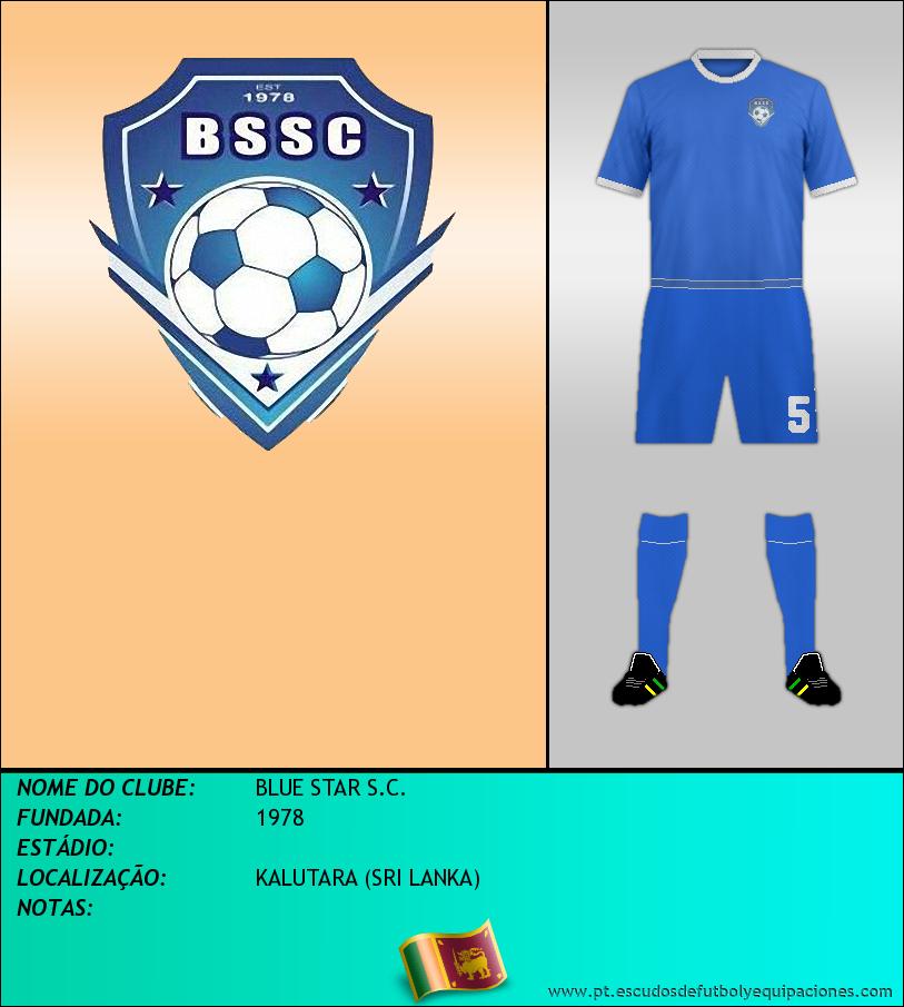 Escudo de BLUE STAR S.C.
