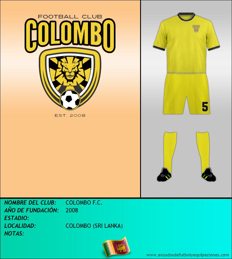 Escudo de COLOMBO F.C.