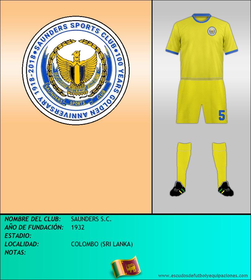 Escudo de SAUNDERS S.C.