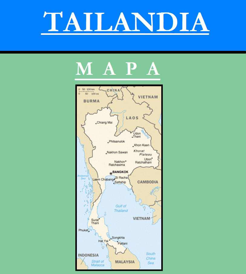 Escudo de MAPA DE TAILANDIA