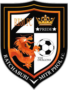 Escudo de RATCHABURI MITR PHOL F.C. (TAILANDIA)