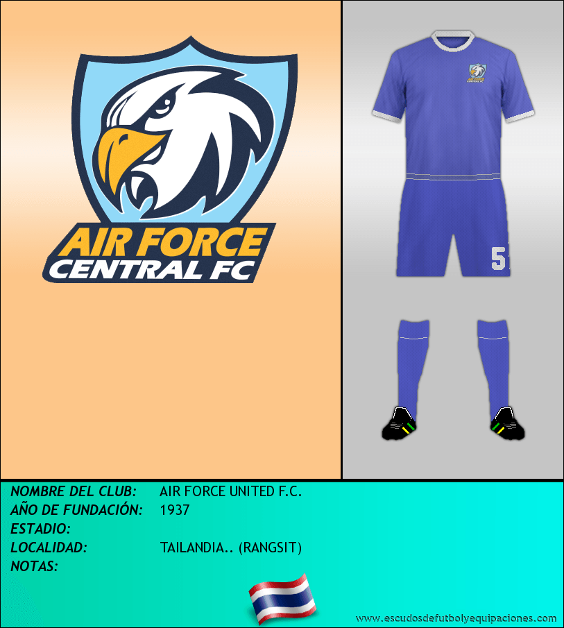 Escudo de AIR FORCE UNITED F.C.