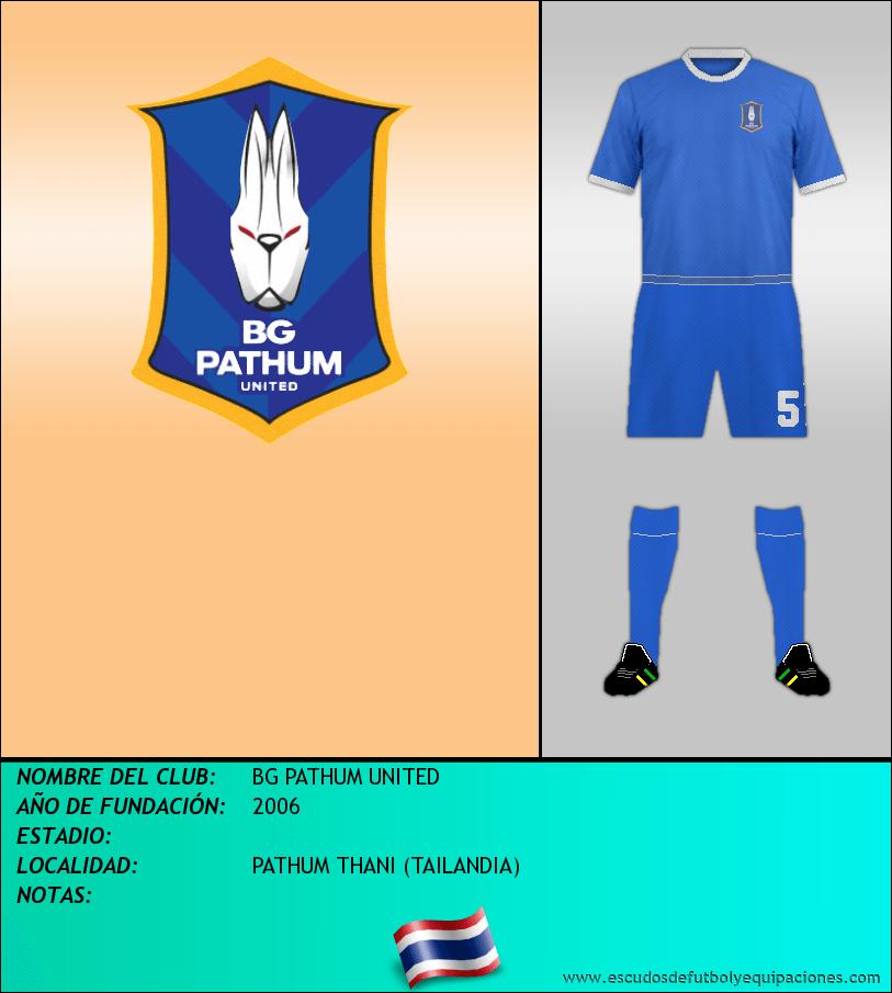 Escudo de BG PATHUM UNITED