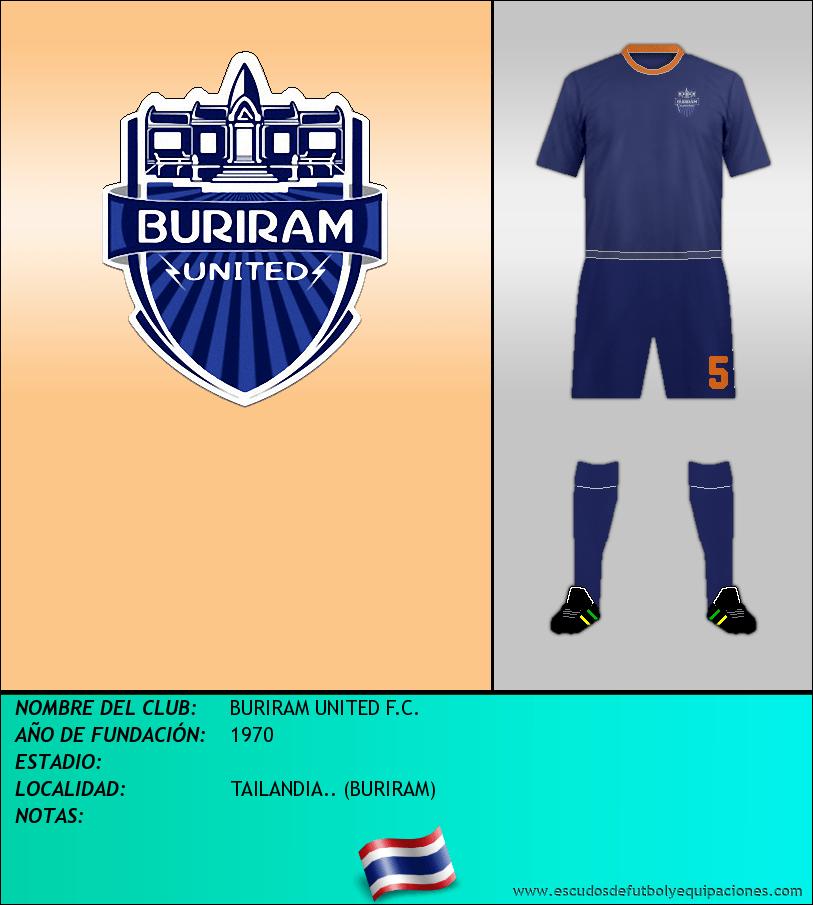 Escudo de BURIRAM UNITED F.C.