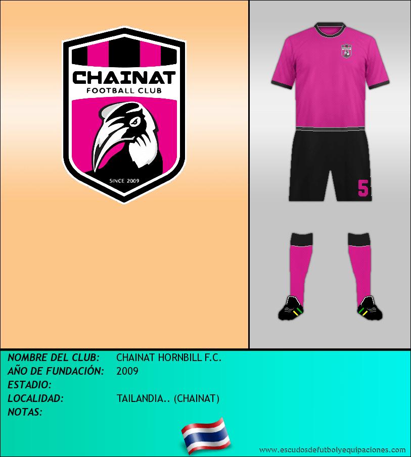 Escudo de CHAINAT HORNBILL F.C.