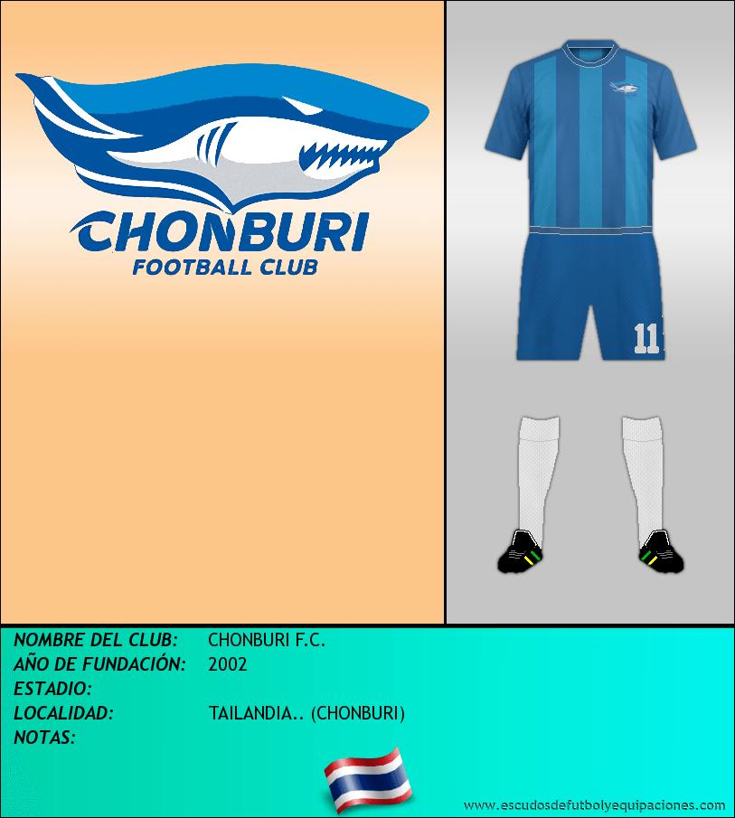 Escudo de CHONBURI F.C.
